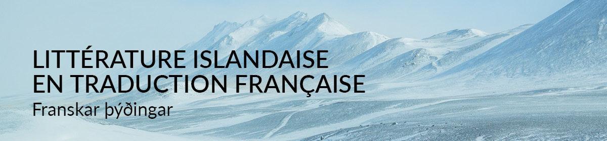 Littérature islandaise en traduction française